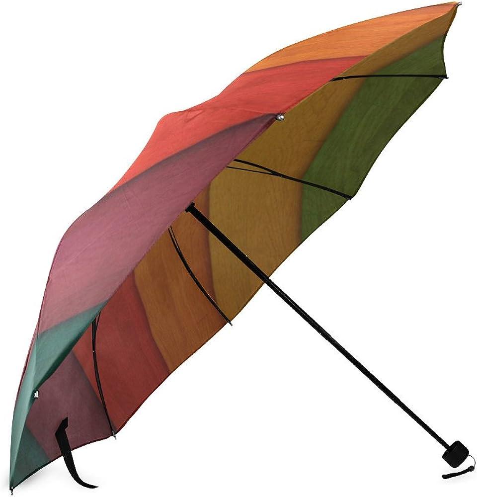 Umbrella wood Custom Umbrella Automatic Folding Umbrella Rainproof /& Windprrof
