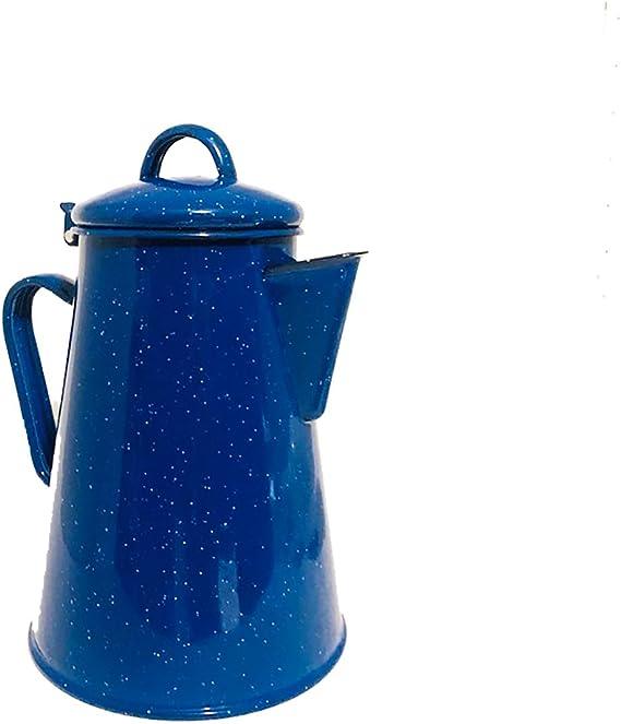 Amazon.com: Cocina Criolla Enamel Percolator Coffee Pot - 8 ...