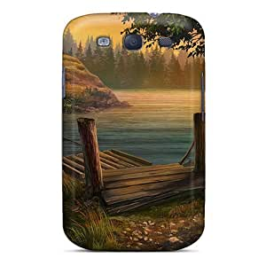 Anti-scratch Case Cover StarFisher Protective European Mystery - Scent Of Desire09 Case For Galaxy S3