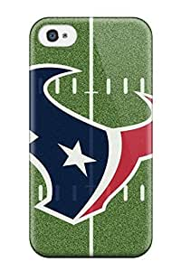 New Style Tpu 4/4s Protective Case Cover/ Iphone Case - Houston Texans
