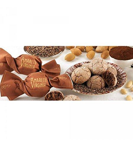 Amaretti Virginia - Tierna Amaretti con 7% cacao, 7% cacao en grano y