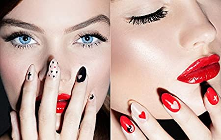 feuille complète de stickers au couleurs de l'espace pour la décoration des ongles - Fleur - STCR001840 Nail Sticker Tattoo - FashionLife