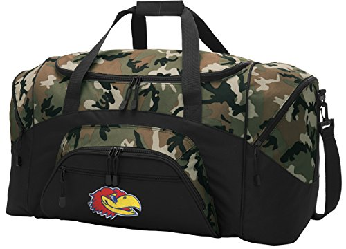 Kansas Jayhawks Duffle Bag - 9