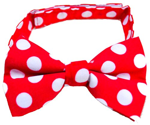 Bow Tie Cake Smash Red White Polka Dots Boy Bow (Cute Circus Outfits)