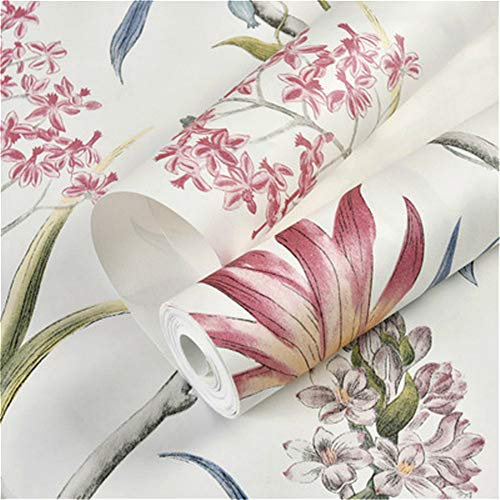 Yuela Chinoiserie Wallpaper Bedroom Wall Covering Modern Vintage