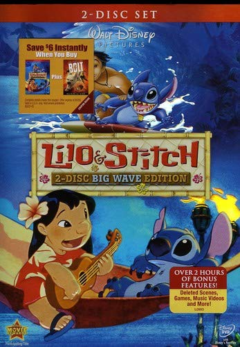 Lilo & Stitch (Two-Disc Big Wave Edition)