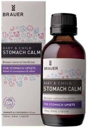 Brauer Natural Medicine Baby & Child Stomach Calm 100 ml