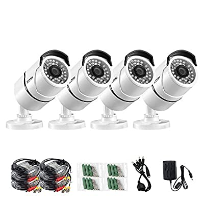 ZOSI Waterproof Outdoor Bullet CCTV Camera Surveillance For Security System