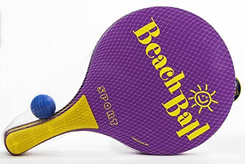Amazon.com: JA-RU Beach Paddle Ball Game Set (Pack of 12 ...