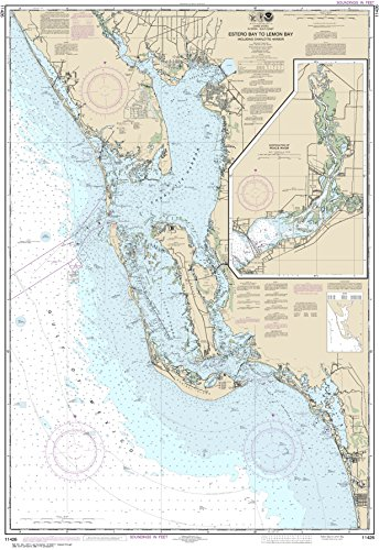 NOAA Chart 11426 Estero Bay to Lemon Bay, including Charlotte Harbor;Continuation of Peace River: 47.82