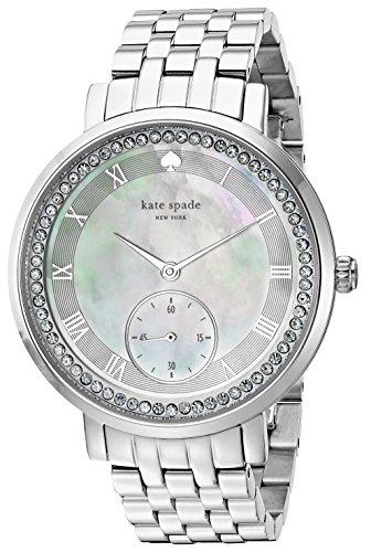 - kate spade new york Women's KSW1292 Monterey Analog Display Japanese Quartz Silver Watch