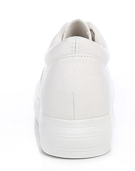 Aisun Damen Fashion Süß Rein Farbe Canvas Mit Schnürsenkel Sneaker:  Amazon.de: Schuhe & Handtaschen