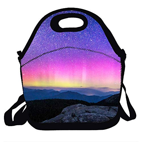 (Lunchbox For School Work Lunch Bag For Kids Lunch Bag Lunch Box Food Bag Fashion Home - Northern Light-1)