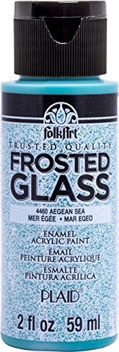 FolkArt 4460 Frosted Aegean Sea Enamel Paint, 2 oz,