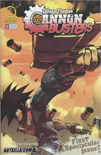 Cannon Busters 1 Variant 2005 Udon Comics Comic Book Soon To Be A