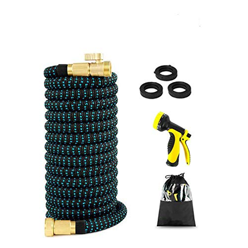 Wide city spring building materials store Expandable Garden Magic Hose Flexible Garden Water Hose High Pressure for Car Hose Pipe Plastic Hoses to Watering with Spray Gun,50Ft