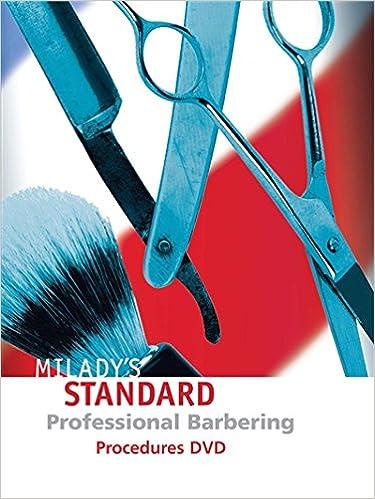 Procedures dvd for miladys standard professional barbering procedures dvd for miladys standard professional barbering 1st edition fandeluxe Images