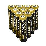 Best 18650 Batteries - Garberiel Rechargeable Batttery 3.7 v 6000mah Li ion Review