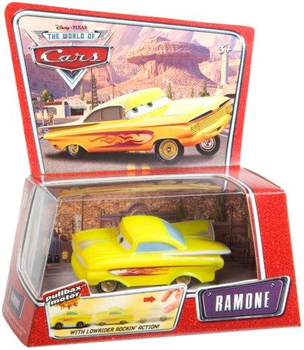 ラモーン イエローバージョン 「カーズ」 プルバックカー3 M9469の商品画像