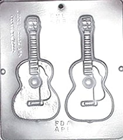 Guitar Chocolate Candy Mold 508