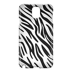 Loud Universe Samsung Galaxy Note 3 3D Wrap Around Zebra Print Cover - Black/White