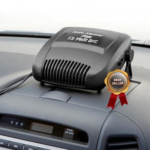 MediSonic High Powered Portable 12 Volt In Car Dash Mount Heater and Windshield Defroster Winter Special