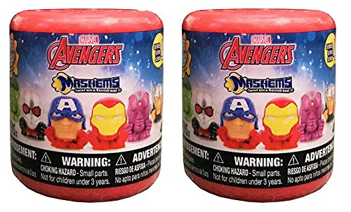 Avengers Series 4 Mashems Mystery Capsules Bundle of 2