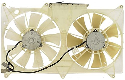 Dual Radiator and Condenser Fan Assembly - Cooling Direct For/Fit LX3115101 98-May'03 Lexus GS300 6Cy 98-00 GS400 98-05 GS430 8cy