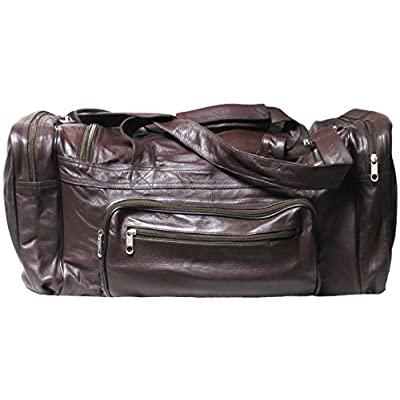 a1b3f5c808cb Genuine Leather Cowhide Sports Bag