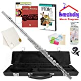 Homeschool Music - Learn to Play the Flute Pack (Lennon & McCartney Music Book Bundle) - Includes Student Flute w/Case, DVD, Books & All Inclusive Learning Essentials