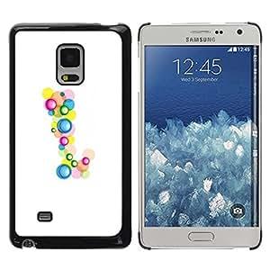PC/Aluminum Funda Carcasa protectora para Samsung Galaxy Mega 5.8 9150 9152 Birthday Minimalist Drops / JUSTGO PHONE PROTECTOR
