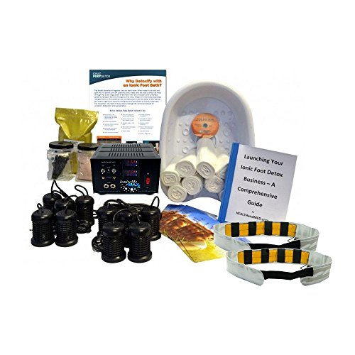 IonizeMe Business Package – Professional Dual User Ionic Detox Foot Bath System by HEALTHandMED