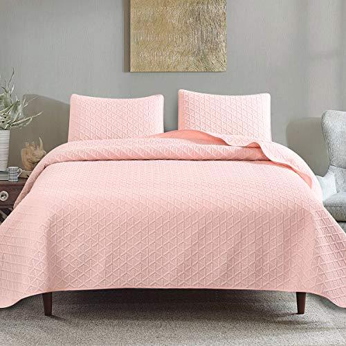 quilt full pink - 2