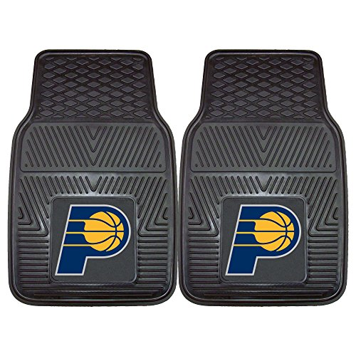 Indiana Pacers Nba Car - Fanmats 9284 NBA-Indiana Pacers Vinyl Universal Heavy Duty Fan Floor Mat