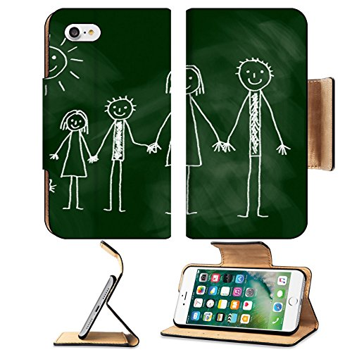 msd-premium-apple-iphone-7-iphone7-flip-pu-leather-wallet-case-drawing-of-family-image-12219999