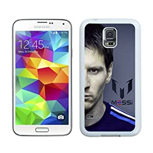 Hot Sale Samsung Galaxy S5 I9600 Screen Cover Case With Soccer Player Lionel Messi 61 White Samsung S5 I9600 Case Unique And Beautiful Designed Phone Case