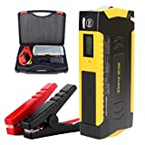 One Year Warranty Blueye Profectional Everyday Vehichle Jump Starter 600A Peak 20000mAh,Car Jump Starter Kit(4.5L/3.0L) Battery Booster Power Bank With LCD Display Voltage Built-in Smart Protection