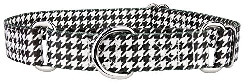 (Country Brook Petz | Houndstooth Martingale Dog Collar - Medium)