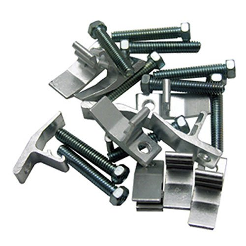 Sink Clip Rim - LASCO 42-2103 Sink Rim Clips Works On J Hook Style Sink Frames, 10-Pack