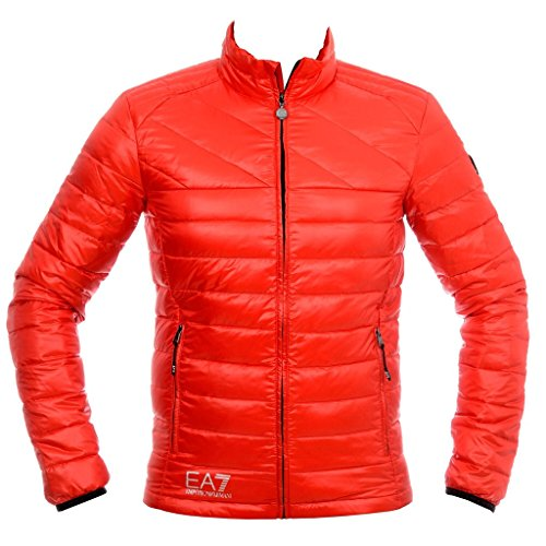 Armani EA7 Technical Down Jacket; color:Rosso; size:S