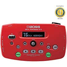 Boss VE-5 Vocal Performer Effects Processor Red with 1 Year Free Extended Warranty