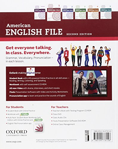 American English File 1 Student Book Workbook