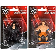 Kids Wrestling WWE Superstar Action Figures Cake Toppers Undertaker John Cena