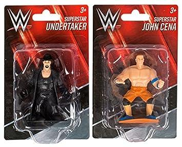 Amazoncom Kids Wrestling WWE Superstar Action Figures Cake Toppers