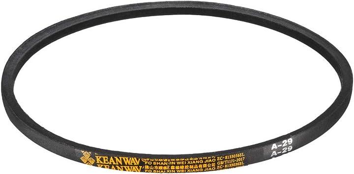 uxcell/® A-55 Drive V-Belt Girth 55-inch Industrial Power Rubber Transmission Belt