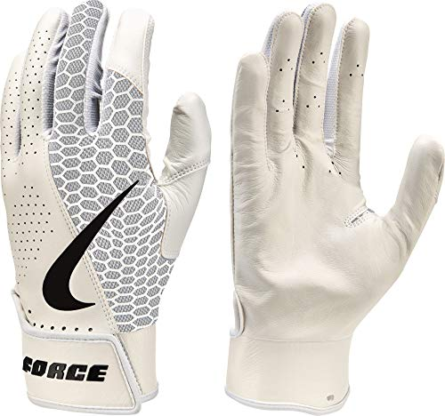 Nike Adult Force Edge Leather Batting Gloves nkNBG21932 (Small)