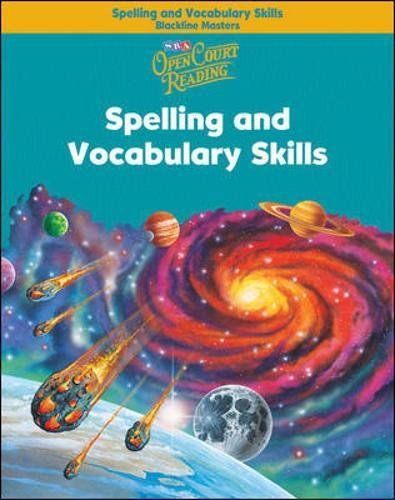 Open Court Reading - Spelling and Vocabulary Skills Blackline Masters - Grade 5