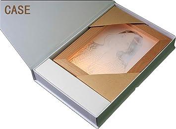 Ds-ray Album de Fotos Lampara de Mesa led USB Interruptor tactil ...
