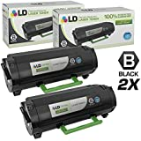 SuppliesOutlet Compatible Toner Cartridge Replacement for Lexmark 501H 50F1H00 Black,5 Pack