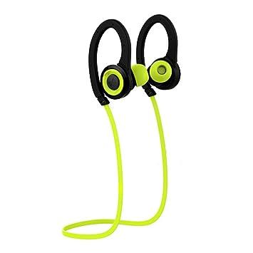 LaCyan Auriculares Bluetooth Deportes inalámbricos In Ear Auriculares para Correr para iPhone 7 8 X: Amazon.es: Electrónica